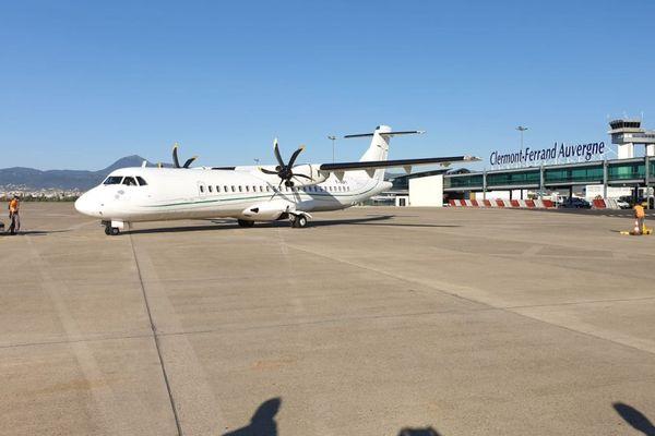 Lundi 14 septembre, la liaison aérienne entre Clermont-Ferrand et Orly a repris.