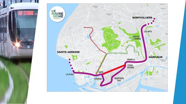 Le maire de Montivilliers propose un autre tracé pour la 3ème ligne de tramway dans l'agglomération havraise. En supprimant la boucle au sud.