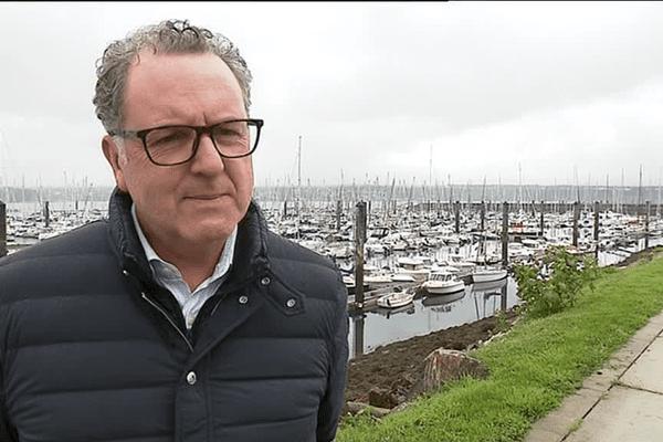 Richard Ferrand à Brest en 2017