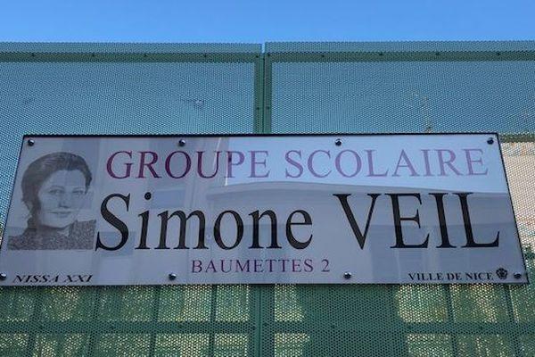 Une école porte désormais le nom de Simone Veil à Nice.