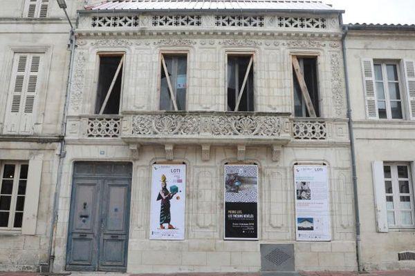 La maison Pierre Loti à Rochefort (Charente-Maritime)
