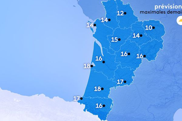 10 à Guéret et 18 à Mont-de-Marsan