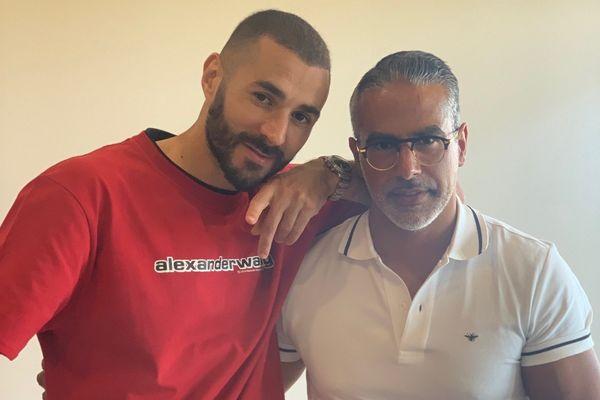 """L'un des clients régulier de """"l'opticien d'exception"""" est Karim Benzema. Baruk Abergel rendre régulièrement visite au célèbre footballeur pour lui rapporter des lunettes."""