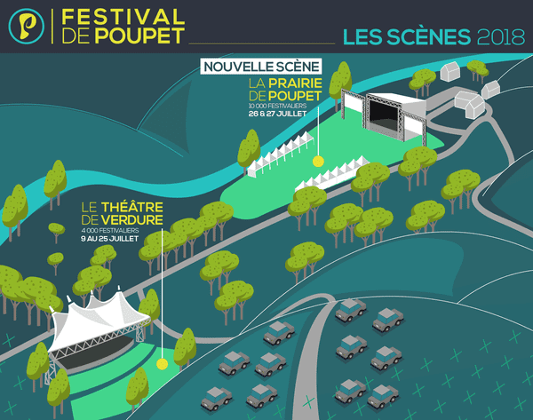 Le festival change de mise en scène en 2018.
