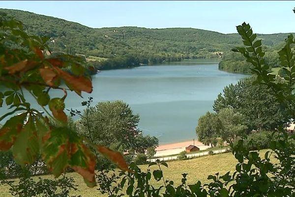 le lac du Causse, près de Brive