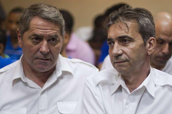 Pascal Fauret et Bruno Odos le 3 février 2014.