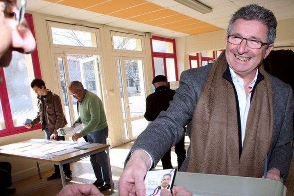 Raymond Couderc en 2010 lors des élections régionales