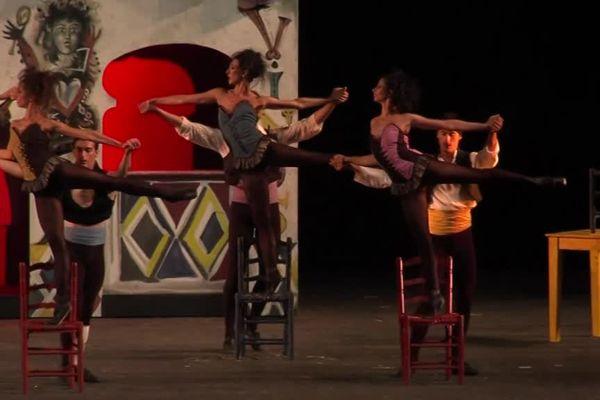les danseurs de l'opéra de Rome en répétition.