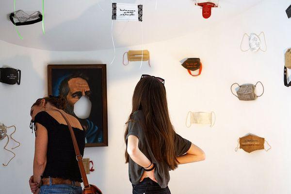 31 artistes ont répondu à l'appel du service culturel de la Motte-Servolex et de Serge Héliès, directeur artistique de La Conciergerie.