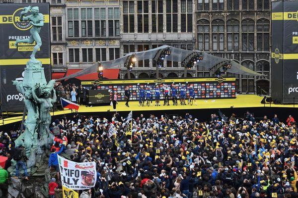 La présentation du Tour des Flandres en 2018.