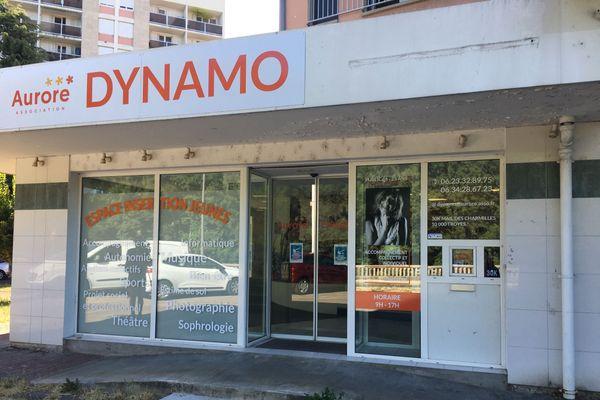 Dynamo est installé Mail des Charmilles, à Troyes