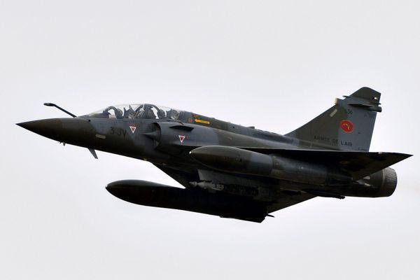 Illustration. Un exemple d'un avion Mirage 2000D de l'armée de l'Air française.