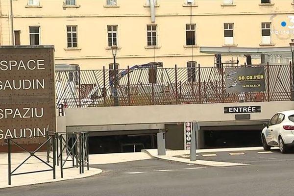 Après plusieurs années d'attente, à Bastia, le parking Gaudin afin ouvert.