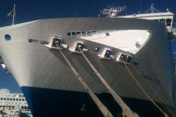 Illustration. L'emblématique navire Pascal Paoli, de l'ancienne compagnie SNCM, désormais Corsica Linea.