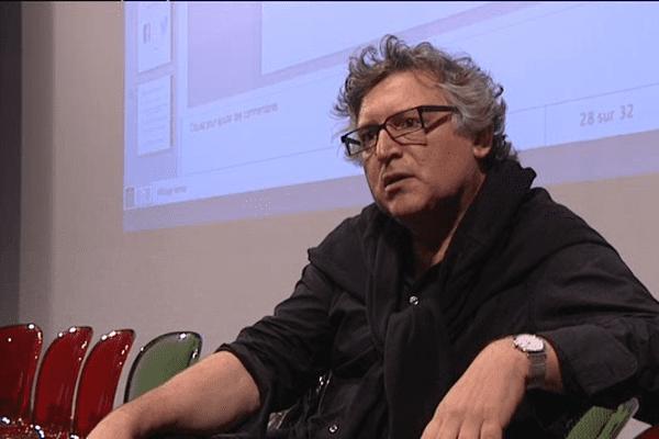 """Michel Onfray a présenté ce lundi soir la nouvelle """"saison"""" de l'université populaire de Caen"""