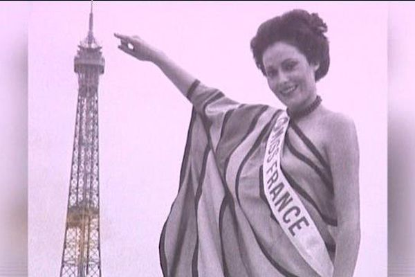 Véronique Fagot élue Miss Poitou en 1976 devient Miss France 1977