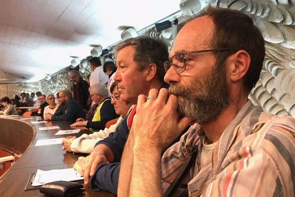 Une trentaine de représentants de la CGT ont assisté aux débats du CESER avant d'être reçus en délégation pour demander le rejet du projet régional de santé.