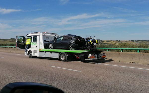 La circulation a été rouverte sur une voie 1 heure après l'accident