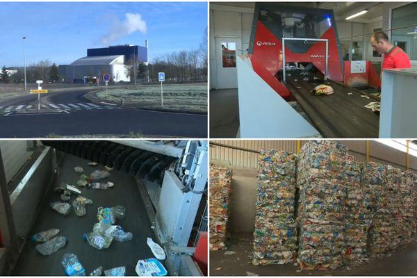 Le centre de tri de Saran a été modernisé pour gérer l'augmentation des déchets jetés dans le bac de tri.