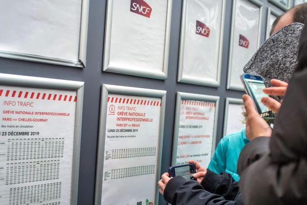 Samedi 28 et dimanche 29 décembre, le trafic des trains de la SNCF sera très perturbé en raison de la grève.