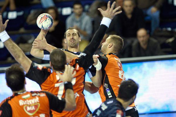 Le Montpellier handball a été très accroché par les Hongrois de Szeged - 29 novembre 2015