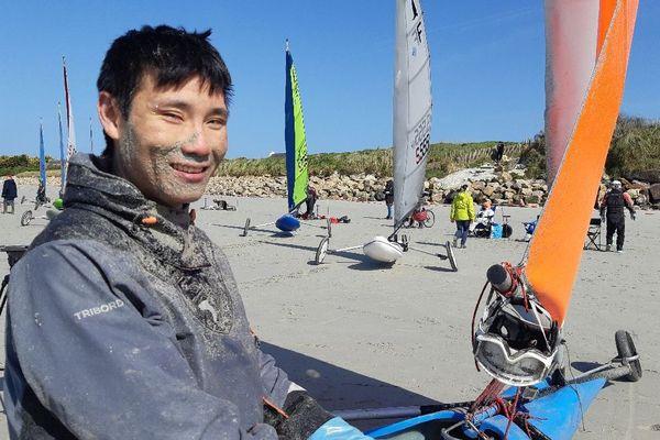 Grand Prix De Bretagne De Char A Voile A Santec Le Champion Du Monde Kevin Mingot A Domicile