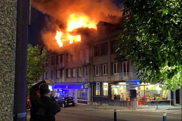 Les trois appartements de l'immeuble ont été évacués