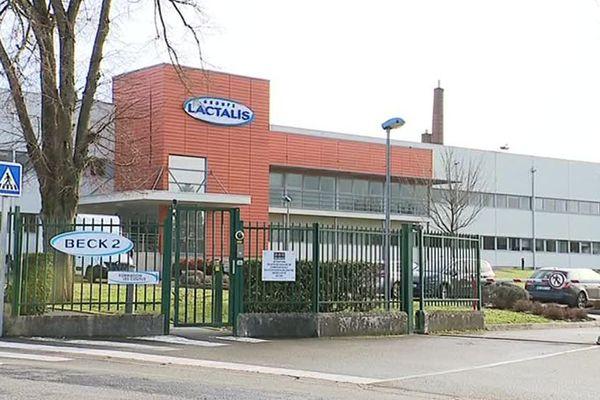 L'usine Lactalis de Craon (Mayenne)