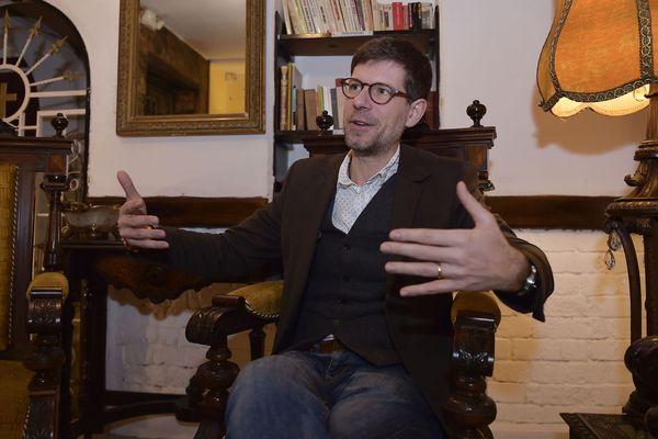Dr Philippe Charlier, le légiste qui a examiné les restes de Jeanne d'Arc.