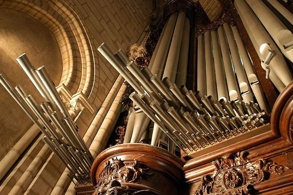 L'orgue de Notre-Dame, ici avant l'incendie, est intact