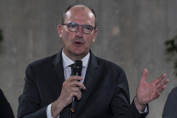 Jean Castex, Premier ministre, le 23 juillet à Besançon