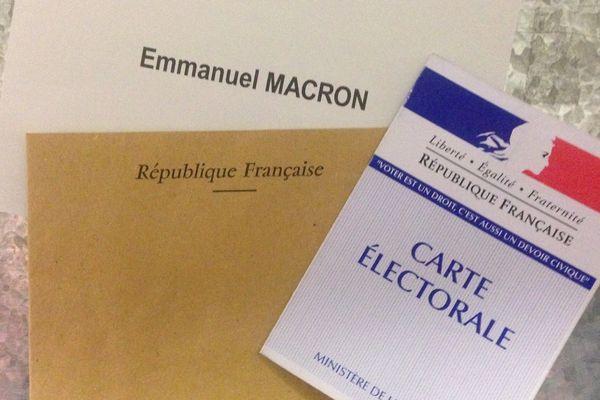 isoloir vote élection présidentielle 2017