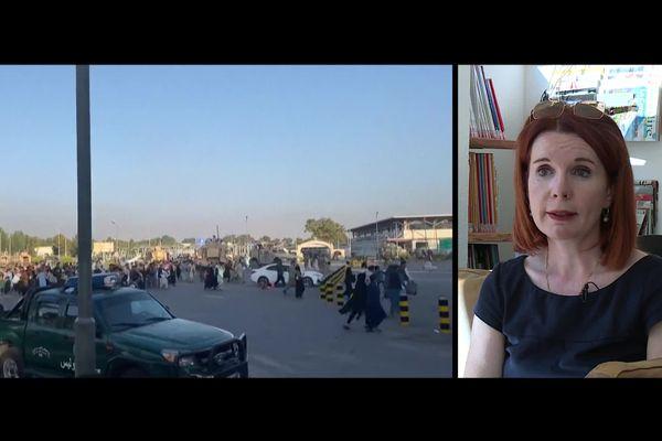 Rapatriée d'Afghanistan et arrivée à Nice, Victoria Fontan raconte le chaos après la prise de Kaboul par les talibans