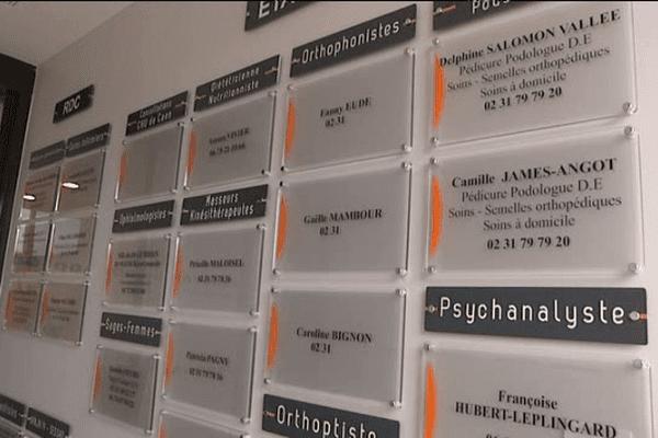 Le pôle de santé de Thury-Harcourt abrite plusieurs spécialités