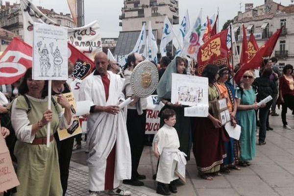 Les professeurs de latin-grec défendent leur discipline à Montpellier