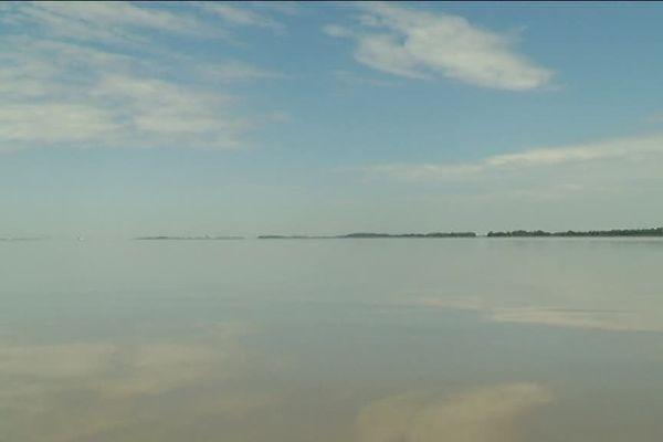 La magie de l'Estuaire, quand les nuages et l'eau jouent avec la lumière...