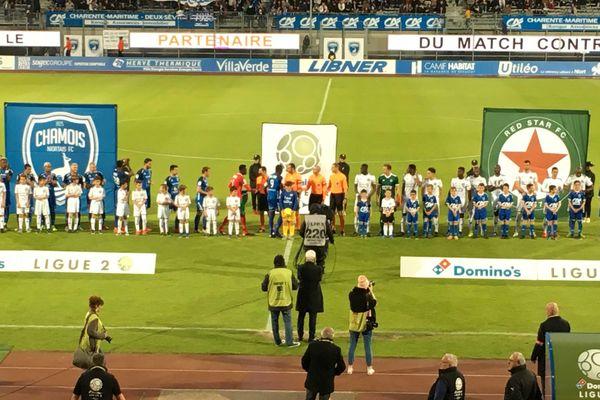 Niort s'est imposé 1-0 face au Red Star vendredi 17 mai 2019
