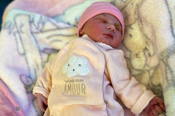 La petite Maddie, née à Frambouhans, a été prise en charge à la maternité de l'hôpital Jean Minoz de Besançon.
