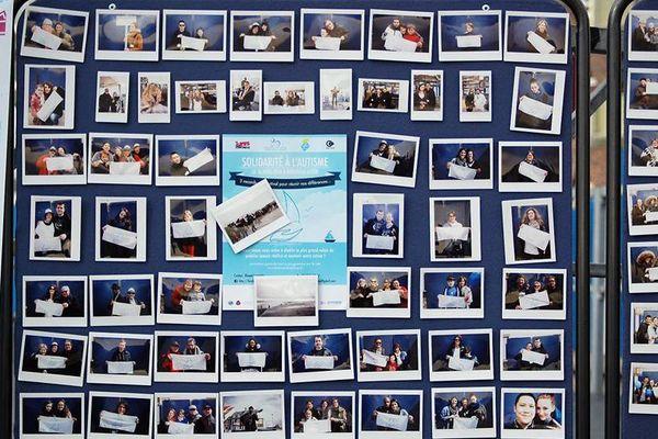 """Le """"mur de soutien"""" de la Traversée bleue"""