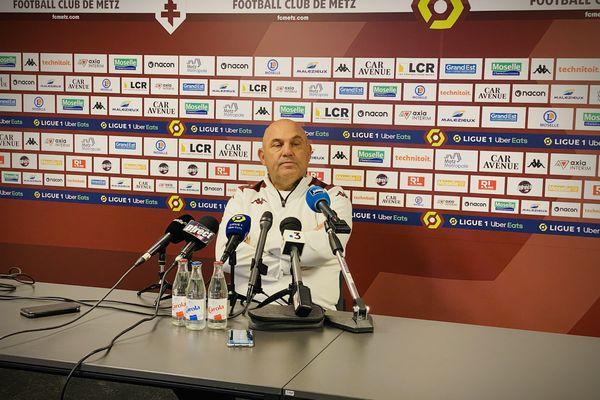 """""""Quand on supporte un club, on le fait dans les bons et les mauvais moments… Sinon, on n'est pas supporter"""", Frédéric Antonetti"""
