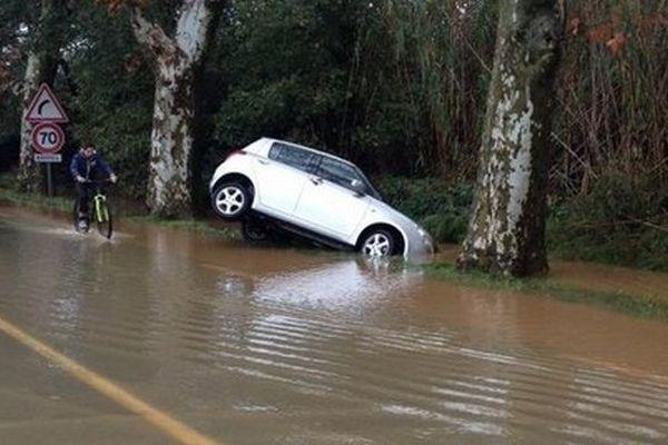 Le Var a été fortement touché par les fortes précipitations cette nuit de mardi à mercredi.