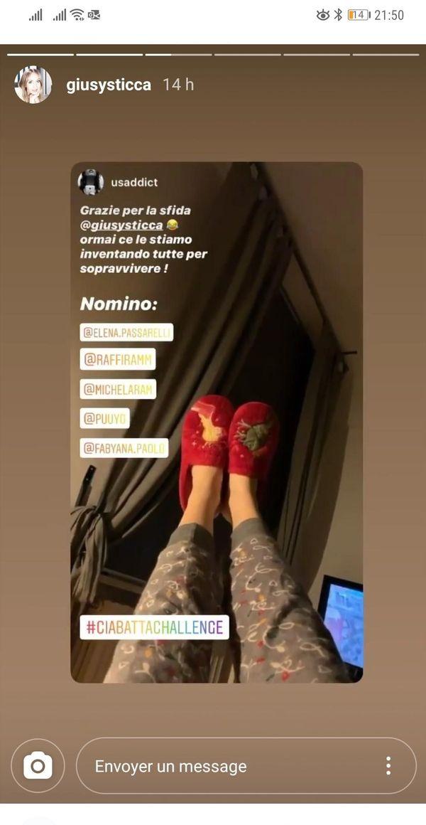 Des chaussons-pyjama challenge ça vous dit ? les jeunes italiens multiplient les petits défis sur les réseaux sociaux.