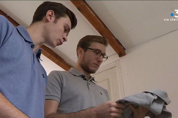 Avec Scambià, deux jeunes Corses créent le premier polo 100 % recyclés et made in France.