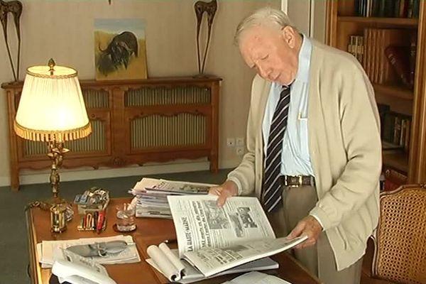 Jean Bletner a dirigé le Journal de la Haute-Marne pendant des années / archives de 2014