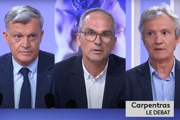 Municipales 2020 : Carpentras, le débat du second tour
