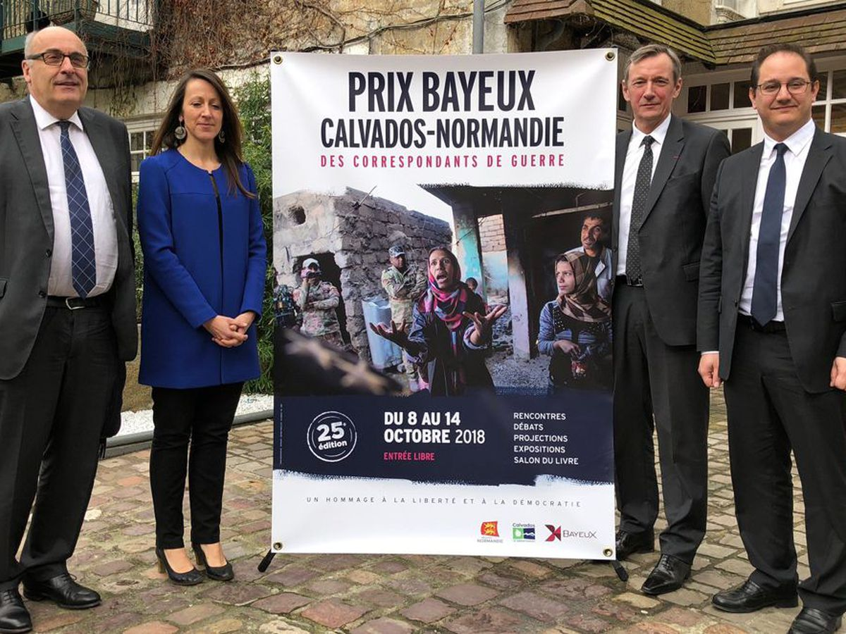 Les Rencontres Prix Bayeux-Calvados des correspondants de guerre