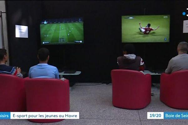 Deux matchs pendant les phases de poule à l'Hôtel de Ville du Havre