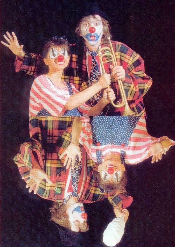 le tandem Anita-Abélard dans ses premiers spectacles en 1983