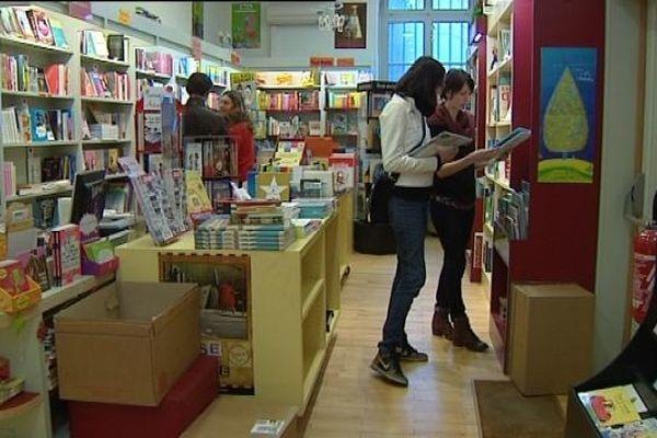 """La librairie """"Les Sandales d'Empédocle"""""""