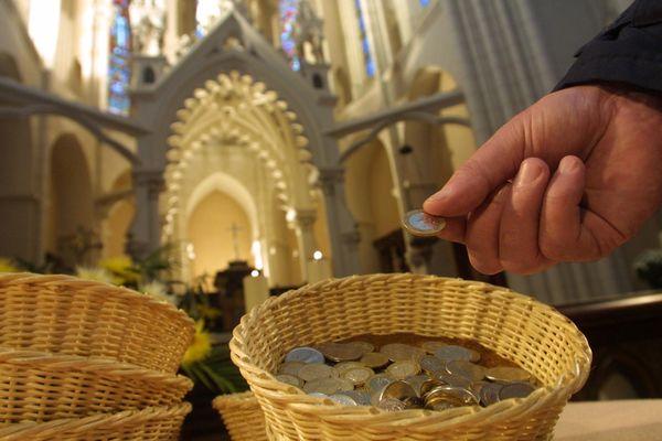 Grève de la quête dans le diocèse de Grenoble